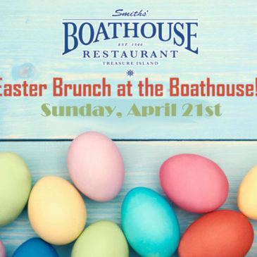 Easter Brunch at the Boathouse!