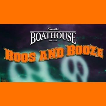 Boos and Booze at the Boathouse!!!